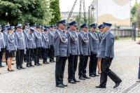 Komendanci Powiatowi Policji wraz z Komendantem Wojewódzkim Policji w Łodzi